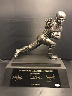 Griffin George Smith Autographed Signed Memorabilia Heisman Trophy Replica Ohio State Buckeyes - JSA Authentic