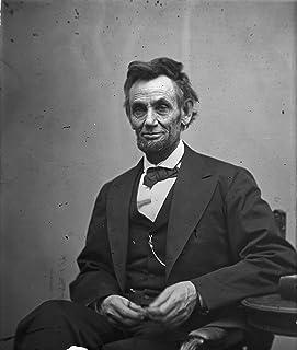 "Abraham Lincoln Photograph - Historical Artwork from 1865 - US President Portrait - (8"" x 10"") - Semi-Gloss"