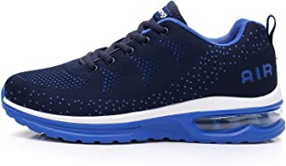 Mens Air Athletic Running Sneakers Tennis Fashion Lightweight Breathable Walking Shoes (US 6.5-12 D(M))