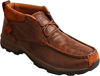 Twisted X Boots Mens Lace up Waterproof Old Brown Hiker