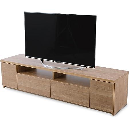 LOWYA ロウヤ TVボード テレビ台 ローボード 国産 テレビボード 50型 幅177.6 ナチュラル