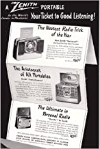 1948 Zenith Portable Radio: Your Ticket to Good Listening, Zenith Print Ad