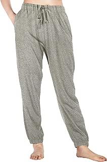 Womens Pajama Pants Cotton Sleep Pants Stretch Knit Lounge Pants with Pockets