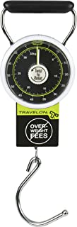 Travelon Stop & Lock Luggage Scale Black One Size