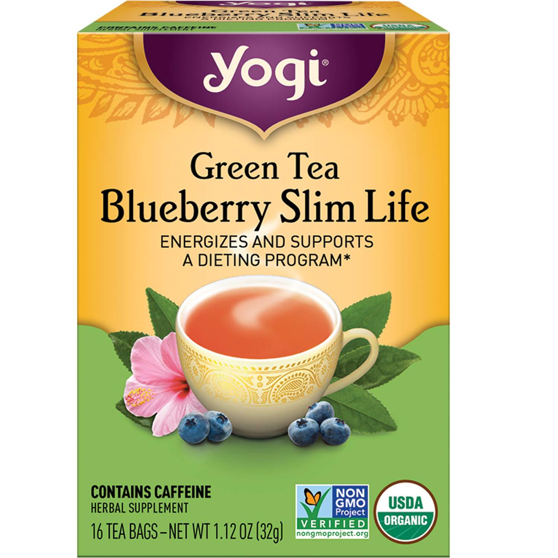 Yogi Tea - Green Blueberry Slim Energizes Life Sales Pack 6 an Max 83% OFF