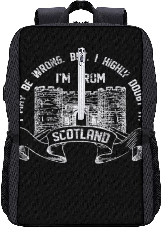 Scotland Unisex Laptop Backpack Women Men Backpacks Book Weekly update famous College