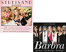 Encore (Movie Partners Sing Broadway) - The Music...The Mem'ries...The Magic! (Live) - Barbara Streisand 2 CD Album Bundling