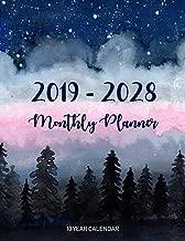 Monthly Planner 2019 - 2028, 10 Year calendar: Ten Year, Agenda Schedule Organizer Logbook and Journal Personal, 120 Months Calendar (10 Year Planner Calendars)