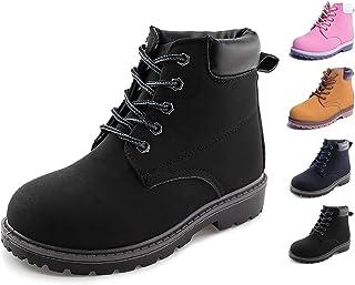 أحذية برقبة حتى الكاحل برباط للأطفال للأولاد والبنات مقاومة للماء في الهواء الطلق من جاباسيك
