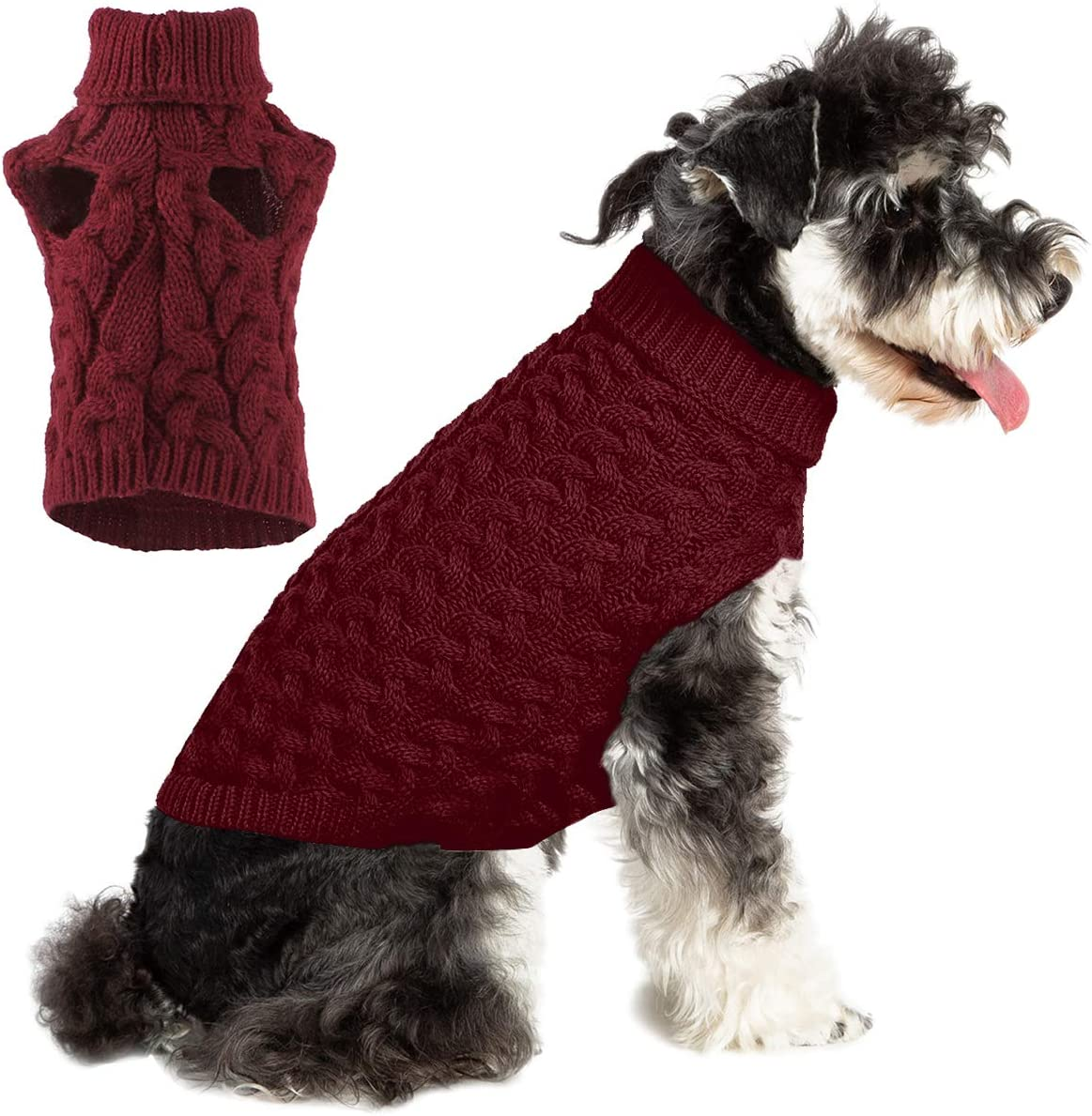 Dog Knitting Sweater Puppy SALENEW very popular Classic Warm High quality new Cable Soft Knit Clothes