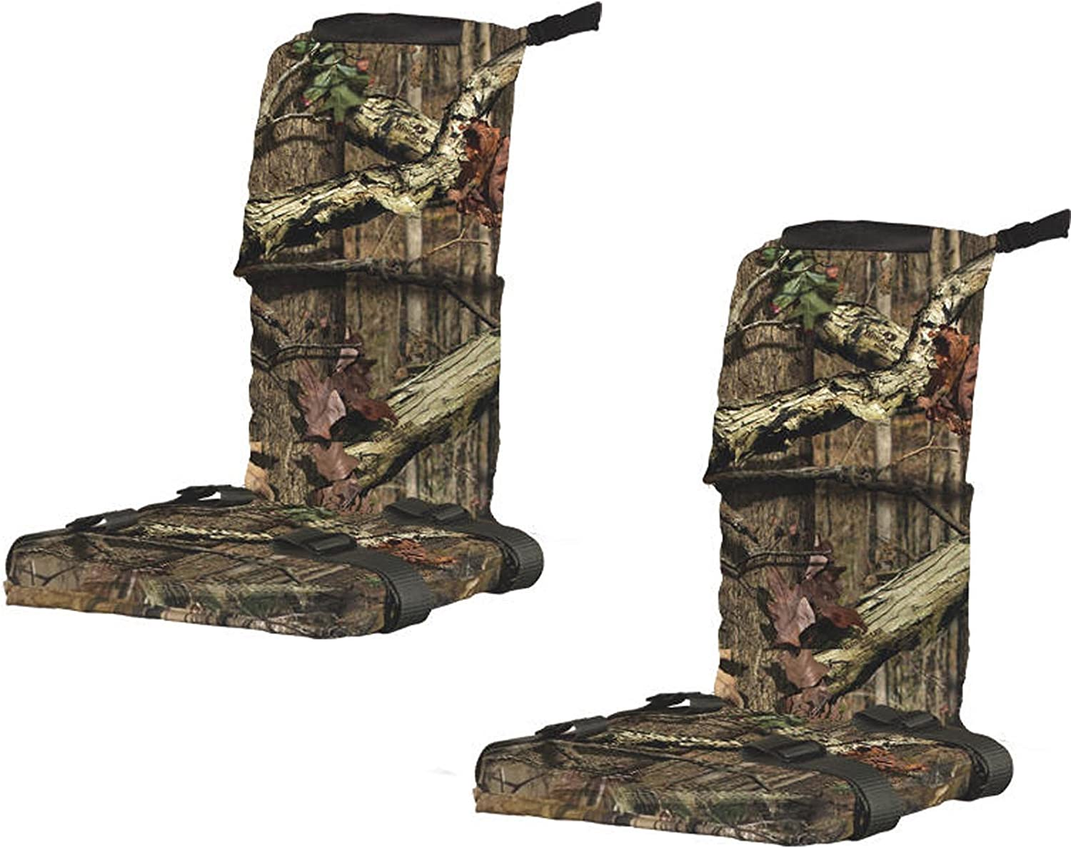 (2) Summit Universal Treestand Foam Replacement Seats w  Mossy Oak Camo   85249