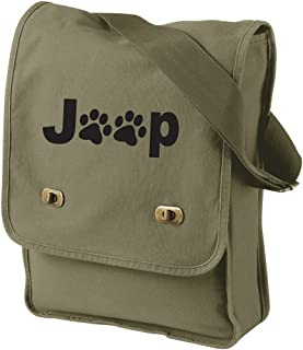 Jp Paws Field Bag in 6 Colors (Khaki)