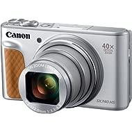 Canon PowerShot SX740 Digital Camera w/40x Optical Zoom & 3 Inch Tilt LCD - 4K VIdeo, Wi-Fi, NFC,...