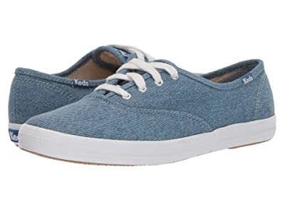 Keds Champion Seasonal Solids (Blue Denim) Women