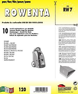 10 Sacchetti per aspirapolvere Rowenta Silence Force RO 6371 EA ZZ-Clan RO6371EA 980