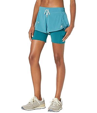 New Balance Printed Impact Run 2-in-1 Shorts