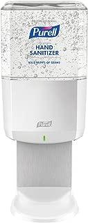 PURELL ES6 Professional Advanced Hand Sanitizer Gel Starter Kit, 1 – 1200 mL Sanitizer Refill + 1 - ES6 White Touch-Free Dispenser – 6462-1W