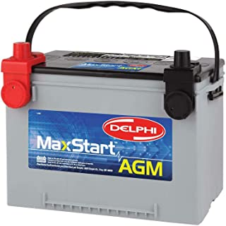 Delphi BU9078DT MaxStart AGM Premium Automotive Battery, Group Size 78DT (Dual Terminal)