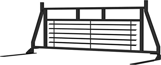 ARIES 111000 Classic Heavy-Duty Black Steel Truck Headache Rack Cab Protector for Select Chevrolet, Ford, Dodge, GMC