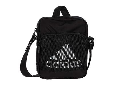 adidas Amplifier Festival Crossbody (Black/White) Handbags
