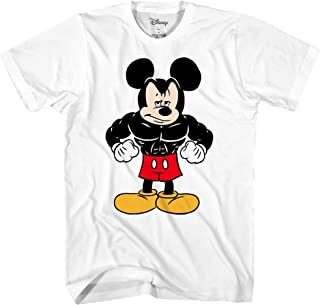 Tough Mickey Mouse Men's Adult Graphic Tee T-Shirt