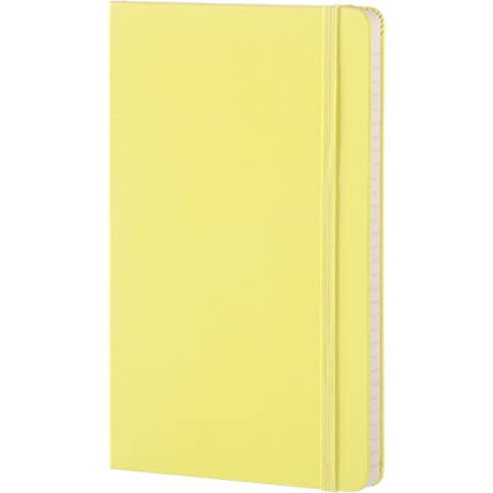 Moleskine taccuino colorato A righe Large giallo limone