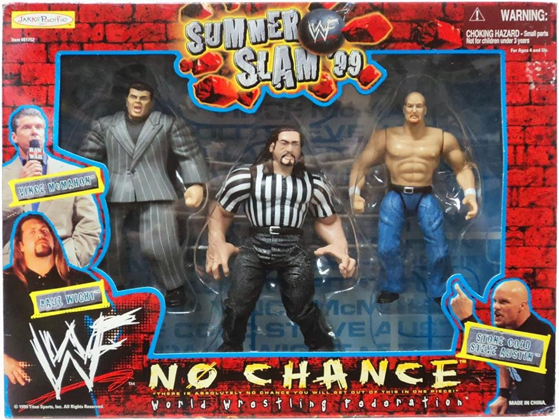 WWF Summer Slam 99 No Chance Box Set Vince Mcmahon , Paul Wight & Stone Cold Steve Austin