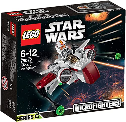 2021 LEGO Star Wars Microfighter lowest outlet online sale ARC-170 Starfighter - 75072. online