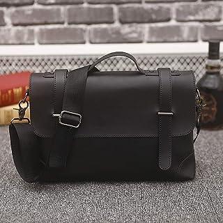 KEHUITONG Multi-function Handbag - Men And Women Crossbody Bag, New Men's Handbag, Retro Messenger Bag, Casual Briefcase Toothbrush, comfortable electric toothbrush, easy (Color : Black)