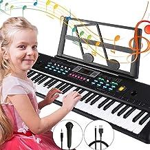Tencoz Electronic Keyboard Piano 61 Key, Portable Piano Keyb