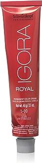 Schwarzkopf Igora Royal Permanent Hair Color - 5-00 Light Brown Forte
