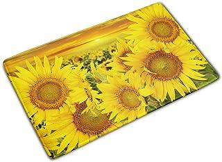 Sunflower Rug Sunflower Door Mat Sun Flower Doormat Floral Welcome Rugs Yellow Mats Kitchen Floor Front Flannel Carpet Kid...