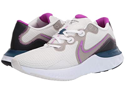 Nike Renew Run (Platinum Tint/Vivid Purple/White/Pink) Women