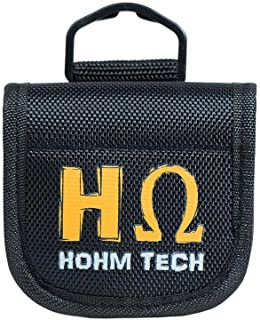 Hohm Security Battery Carrier Specially Form Fitted for 18650, 20700, 21700 li-ion Batteries (4-Bay)