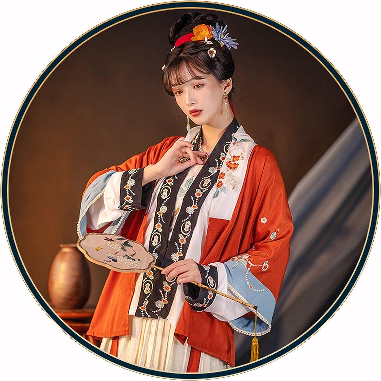 Hanfu Chinese Dress Embroidery Skirt Women's Ancient Tampa Mall Regular discount Fairy