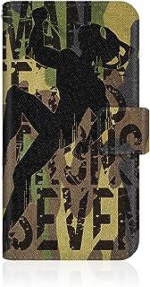 CaseMarket 【手帳型】 apple iPhone XS iPhoneXS スリムケース ステッチモデル [ CaseMarket ウルトラマン スマートフォンケース シリーズ - ウルトラセブン 迷彩デザイン ] レザー手帳 ステッチ & ストラップホール