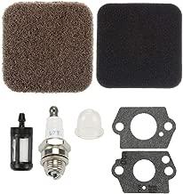 Panari 4137-124-2800 Air Filter Fuel Filter Spark Plug for Stihl FS80 FS85 KM85 FC75 FC85 BG72 BG75 FS74 FS76 SP80 SP85
