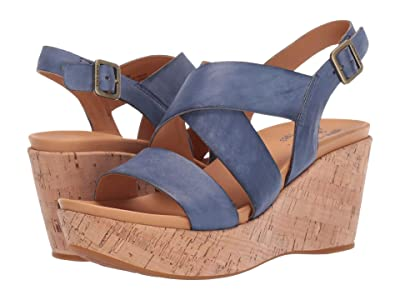 Kork-Ease Ashcroft (Navy Full Grain Leather) Women