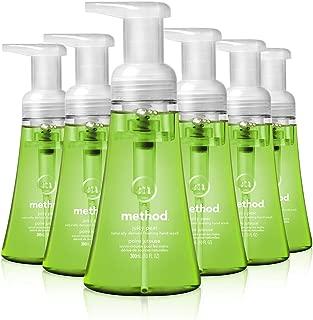 Method Foaming Hand Soap, Juicy Pear, 10 Fl Oz (Pack of 6)