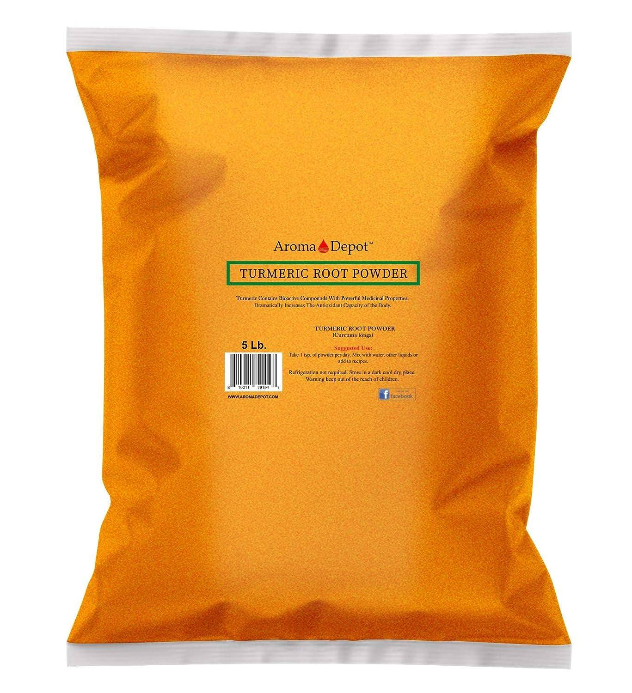 Turmeric Save money Powder Ground Cheap 5 lb. Curcumin Raw Contains non-GMO G