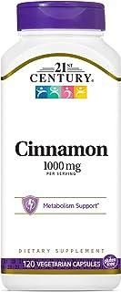 21st Century Cinnamon, 1000mg, 120 Vegicaps