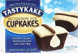 Tastykake Buttercream Iced Cupcakes - 2 Family Packs