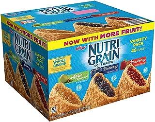 Kellogg's Nutri-Grain Variety Pack (1.3 oz., bar, 48 ct.) vevo