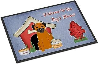 border terrier doormat