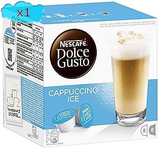 : Nescafé ® Dolce Gusto® Cappuccino Ice, Café et lait, 1x 16Capsules (= 16), 16portions
