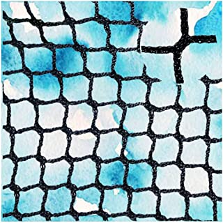 Netted Backstop,Baby Stair Net Balcony Safety Kids Railing Ball Stopping Netting Nylon Goal Ball Stop Net Black Nets Course Barrier Replacement Protection Rope Children Rail Stairs Indoor Outdoor