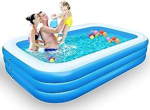 Inflatable Swimming Pool, LANIAKEA 118