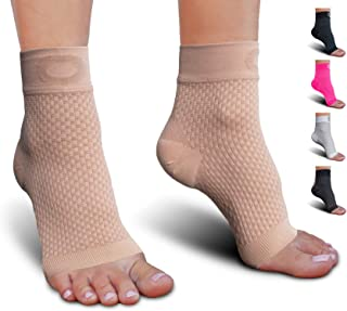 Best Plantar Fasciitis Socks with Arch Support for Men & Women - Best Ankle Compression Socks for Foot and Heel Pain Relief - Better Than Night Splint Brace, Orthotics, Inserts, Insoles Review