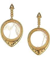 Luna Stone Statement Earrings