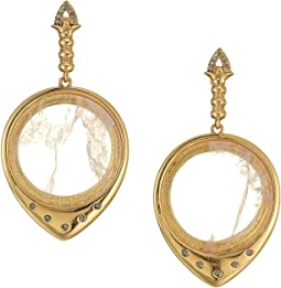 House of Harlow 1960 Luna Stone Statement Earrings